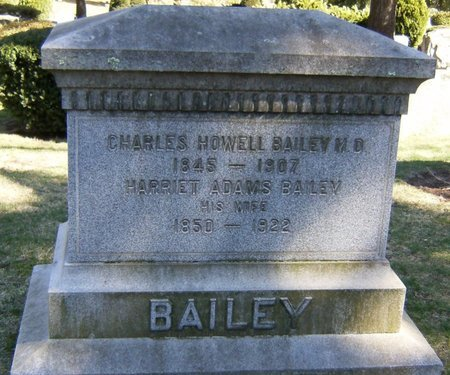BAILEY, CHARLES HOWELL - Essex County, New Jersey | CHARLES HOWELL BAILEY - New Jersey Gravestone Photos