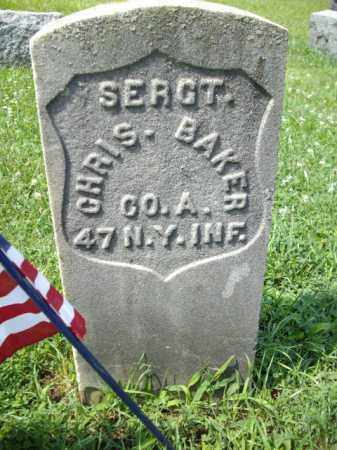 BAKER, SGT.CHRISTOPHER - Essex County, New Jersey | SGT.CHRISTOPHER BAKER - New Jersey Gravestone Photos