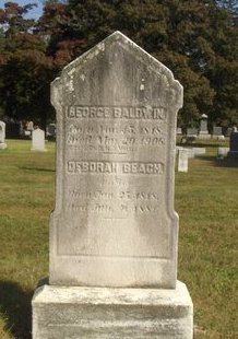 BALDWIN, GEORGE - Essex County, New Jersey | GEORGE BALDWIN - New Jersey Gravestone Photos