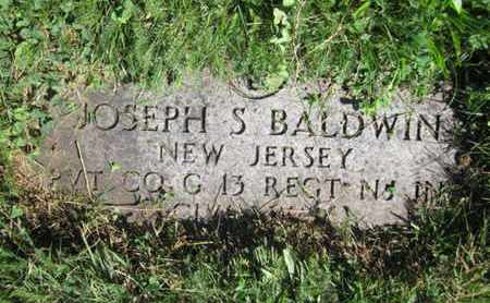 BALDWIN, JOSEPH S. - Essex County, New Jersey | JOSEPH S. BALDWIN - New Jersey Gravestone Photos