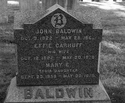 BALDWIN, JOHN - Essex County, New Jersey | JOHN BALDWIN - New Jersey Gravestone Photos