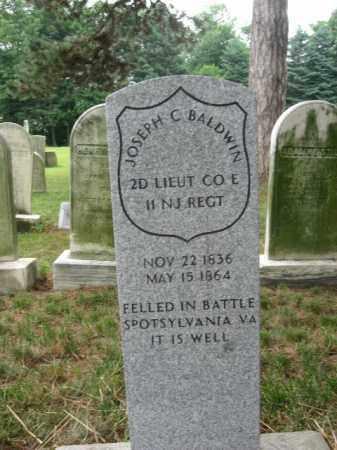 BALDWIN, LT.JOSEPH C. - Essex County, New Jersey | LT.JOSEPH C. BALDWIN - New Jersey Gravestone Photos