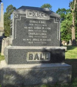 BALL, GEORGE D. - Essex County, New Jersey | GEORGE D. BALL - New Jersey Gravestone Photos
