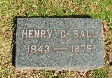 BALL, HENRY C. - Essex County, New Jersey | HENRY C. BALL - New Jersey Gravestone Photos