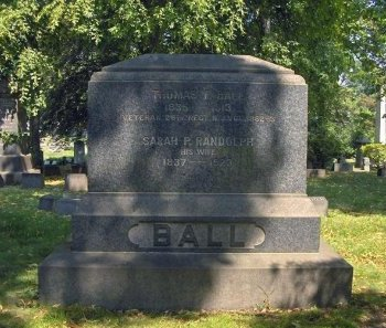 BALL, THOMAS F. - Essex County, New Jersey | THOMAS F. BALL - New Jersey Gravestone Photos