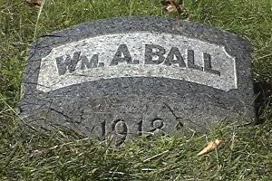 BALL, WILLIAM A. - Essex County, New Jersey | WILLIAM A. BALL - New Jersey Gravestone Photos