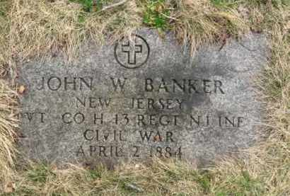 BANKER, JOHN W. - Essex County, New Jersey | JOHN W. BANKER - New Jersey Gravestone Photos