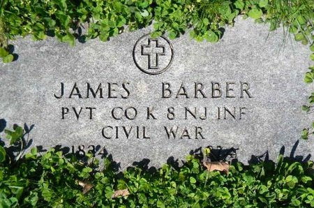 BARBER, JAMES - Essex County, New Jersey   JAMES BARBER - New Jersey Gravestone Photos
