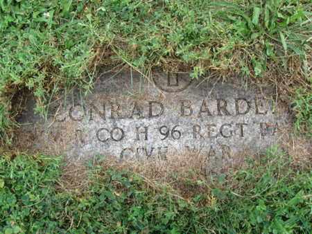 BARDELL (BORDEL), CONRAD - Essex County, New Jersey | CONRAD BARDELL (BORDEL) - New Jersey Gravestone Photos
