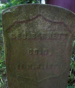 BARNETT, GEORGE W. - Essex County, New Jersey | GEORGE W. BARNETT - New Jersey Gravestone Photos