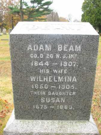 BEAM  AKA KEETH, ADAM - Essex County, New Jersey | ADAM BEAM  AKA KEETH - New Jersey Gravestone Photos