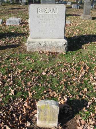BEAM, GEORGE T. - Essex County, New Jersey | GEORGE T. BEAM - New Jersey Gravestone Photos