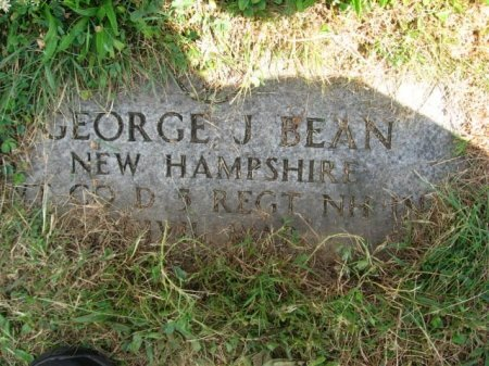 BEAN, GEORGE J. - Essex County, New Jersey | GEORGE J. BEAN - New Jersey Gravestone Photos