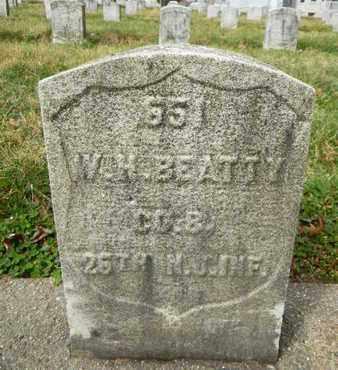 BEATTY, WILLIAM H. - Essex County, New Jersey | WILLIAM H. BEATTY - New Jersey Gravestone Photos