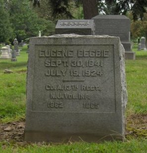 BEGBIE, EUGENE - Essex County, New Jersey   EUGENE BEGBIE - New Jersey Gravestone Photos