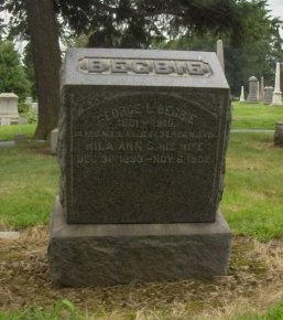 BEGBIE, GEORGE L. - Essex County, New Jersey | GEORGE L. BEGBIE - New Jersey Gravestone Photos