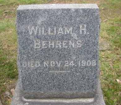 BEHRENS, WILLIAM H. - Essex County, New Jersey | WILLIAM H. BEHRENS - New Jersey Gravestone Photos
