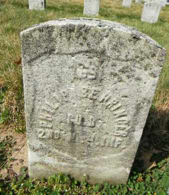 BEHRINGER, PHILIP - Essex County, New Jersey | PHILIP BEHRINGER - New Jersey Gravestone Photos