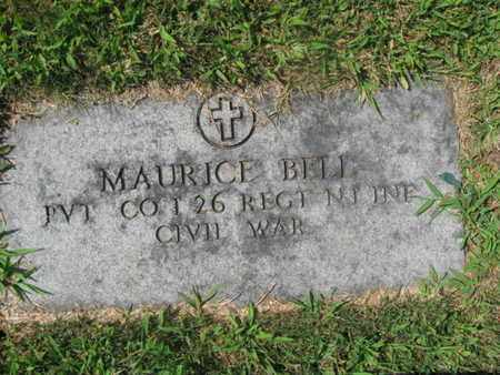 BELL, MAURICE - Essex County, New Jersey | MAURICE BELL - New Jersey Gravestone Photos
