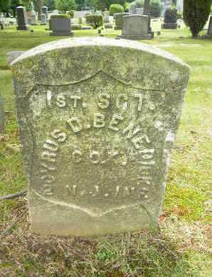 BENEDICK (BENEDICT), CYRUS D. - Essex County, New Jersey | CYRUS D. BENEDICK (BENEDICT) - New Jersey Gravestone Photos