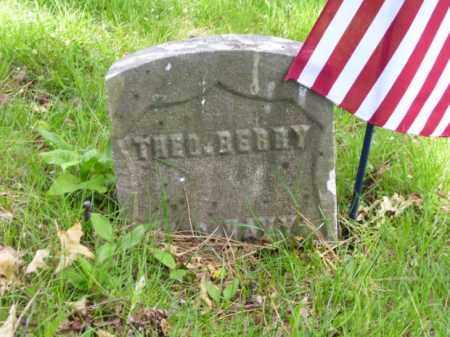 BERRY, THEODORE - Essex County, New Jersey | THEODORE BERRY - New Jersey Gravestone Photos