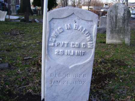BALDWIN, LEWIS M. - Essex County, New Jersey   LEWIS M. BALDWIN - New Jersey Gravestone Photos
