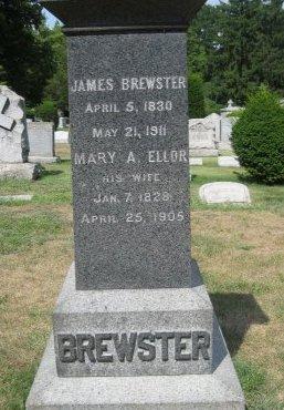 BREWSTER, JAMES - Essex County, New Jersey | JAMES BREWSTER - New Jersey Gravestone Photos
