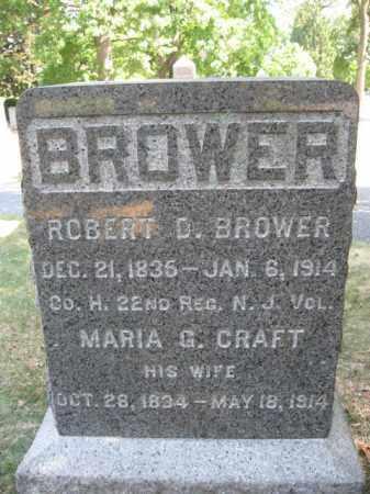 BROWER, ROBERT D. - Essex County, New Jersey | ROBERT D. BROWER - New Jersey Gravestone Photos