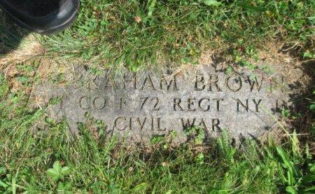BROWN, ABRAHAM - Essex County, New Jersey | ABRAHAM BROWN - New Jersey Gravestone Photos