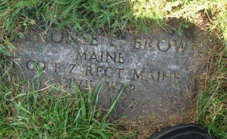 BROWN, ALPHONSE (ALPHONZO) - Essex County, New Jersey | ALPHONSE (ALPHONZO) BROWN - New Jersey Gravestone Photos