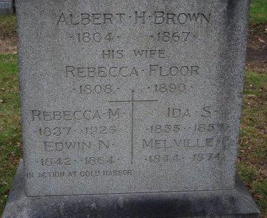 BROWN, EDWIN N. - Essex County, New Jersey | EDWIN N. BROWN - New Jersey Gravestone Photos