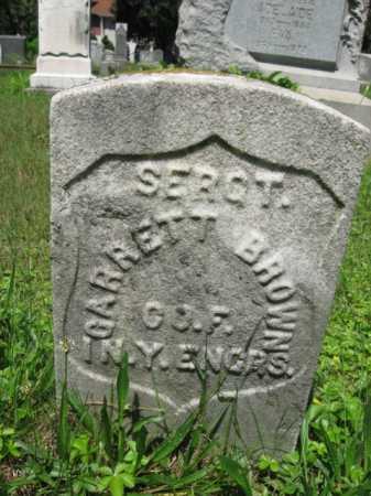 BROWN, GARRETT - Essex County, New Jersey   GARRETT BROWN - New Jersey Gravestone Photos