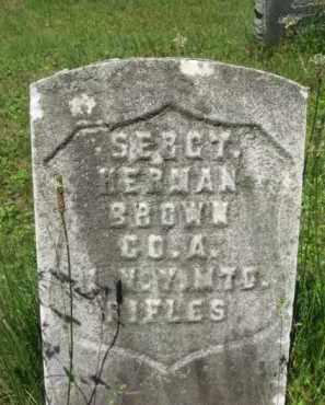 BROWN, HERMAN - Essex County, New Jersey | HERMAN BROWN - New Jersey Gravestone Photos