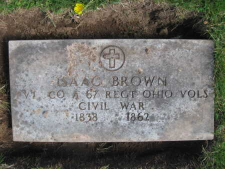 BROWN, ISAAC - Essex County, New Jersey | ISAAC BROWN - New Jersey Gravestone Photos
