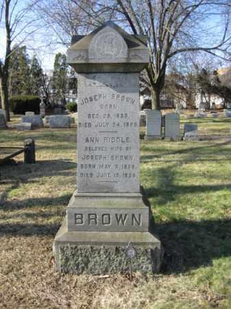BROWN, JOSEPH - Essex County, New Jersey | JOSEPH BROWN - New Jersey Gravestone Photos