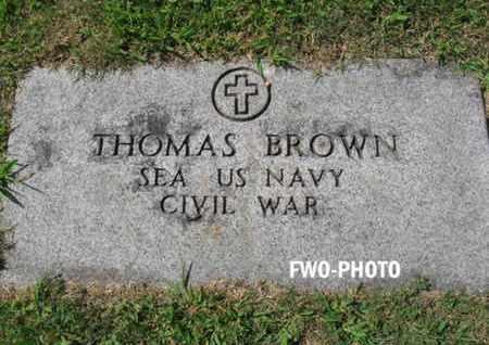 BROWN, THOMAS - Essex County, New Jersey | THOMAS BROWN - New Jersey Gravestone Photos