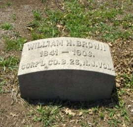 BROWN, WILLIAM H. - Essex County, New Jersey | WILLIAM H. BROWN - New Jersey Gravestone Photos