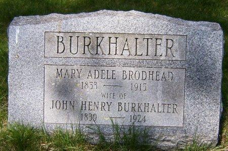 BURKHALTER, JOHN HENRY - Essex County, New Jersey | JOHN HENRY BURKHALTER - New Jersey Gravestone Photos