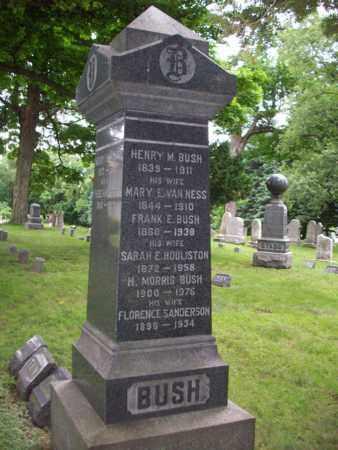 BUSH, HENRY M. - Essex County, New Jersey | HENRY M. BUSH - New Jersey Gravestone Photos