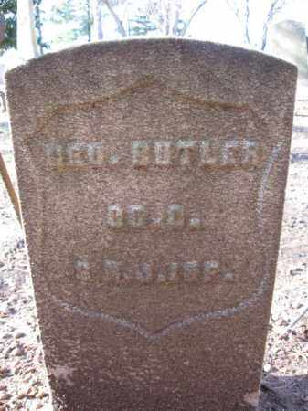 BUTLER, GEORGE - Essex County, New Jersey | GEORGE BUTLER - New Jersey Gravestone Photos