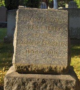 CADMUS, ABRAM (ABRAHAM) - Essex County, New Jersey | ABRAM (ABRAHAM) CADMUS - New Jersey Gravestone Photos