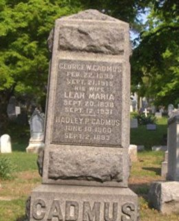 CADMUS, GEORGE W. - Essex County, New Jersey | GEORGE W. CADMUS - New Jersey Gravestone Photos