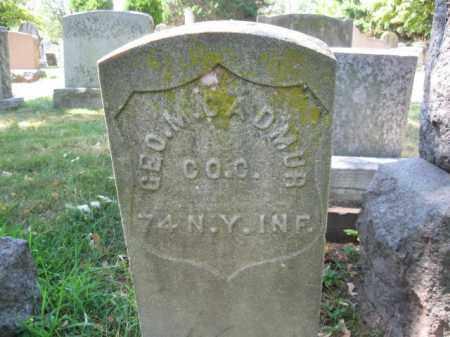 CADMUS, GEORGE M. - Essex County, New Jersey | GEORGE M. CADMUS - New Jersey Gravestone Photos