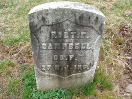 CAMPBELL, ROBERT F. - Essex County, New Jersey | ROBERT F. CAMPBELL - New Jersey Gravestone Photos