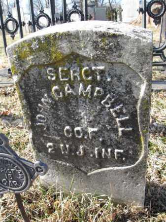 CAMPBELL, SERGT.JOHN - Essex County, New Jersey | SERGT.JOHN CAMPBELL - New Jersey Gravestone Photos