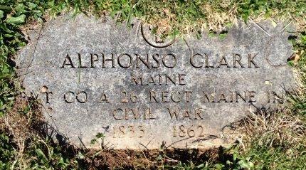 CLARK, ALPHONSO - Essex County, New Jersey   ALPHONSO CLARK - New Jersey Gravestone Photos