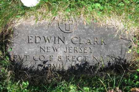 CLARK, EDWIN - Essex County, New Jersey | EDWIN CLARK - New Jersey Gravestone Photos