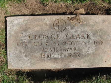 CLARK, GEORGE - Essex County, New Jersey   GEORGE CLARK - New Jersey Gravestone Photos