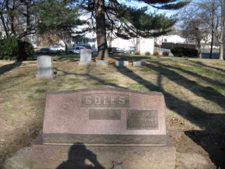 COLES, JAMES P. - Essex County, New Jersey | JAMES P. COLES - New Jersey Gravestone Photos