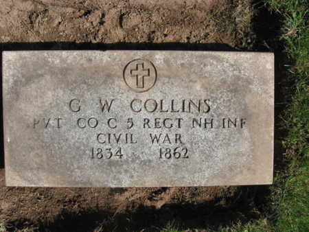COLLINS, GIDEON W. - Essex County, New Jersey   GIDEON W. COLLINS - New Jersey Gravestone Photos
